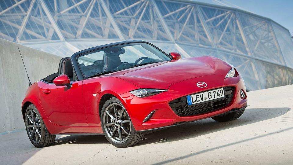 Mazda MX-5 стала «Всемирным автомобилем года»