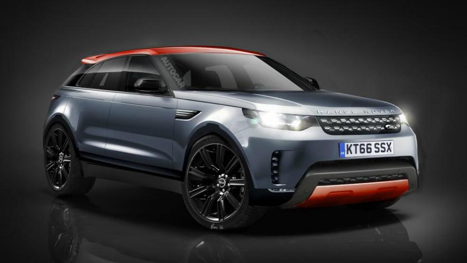 Range Rover выпустит конкурента BMW X6