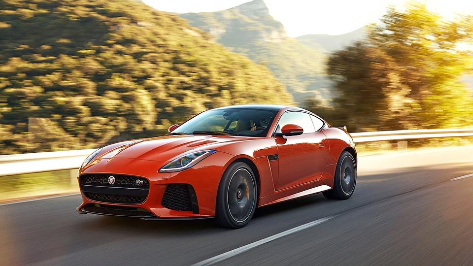 Топовым спорткаром компании останется Jaguar F-Type SVR