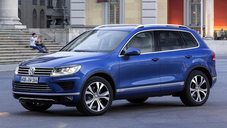 Volkswagen и Porsche отзовут в России 60 тысяч внедорожников