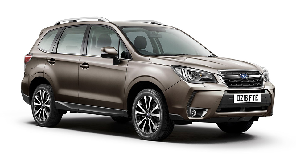 Кроссовер Subaru Forester обновился