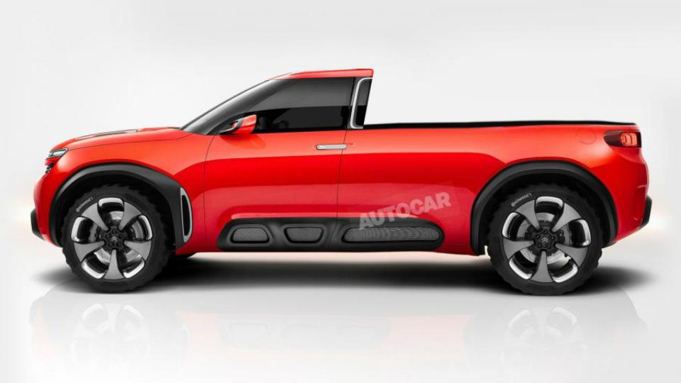 Peugeot и Citroen разработают пикап