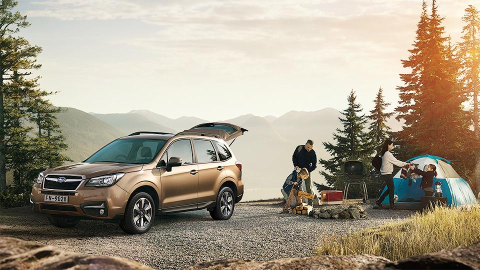 Обновленный Subaru Forester появится в России в мае