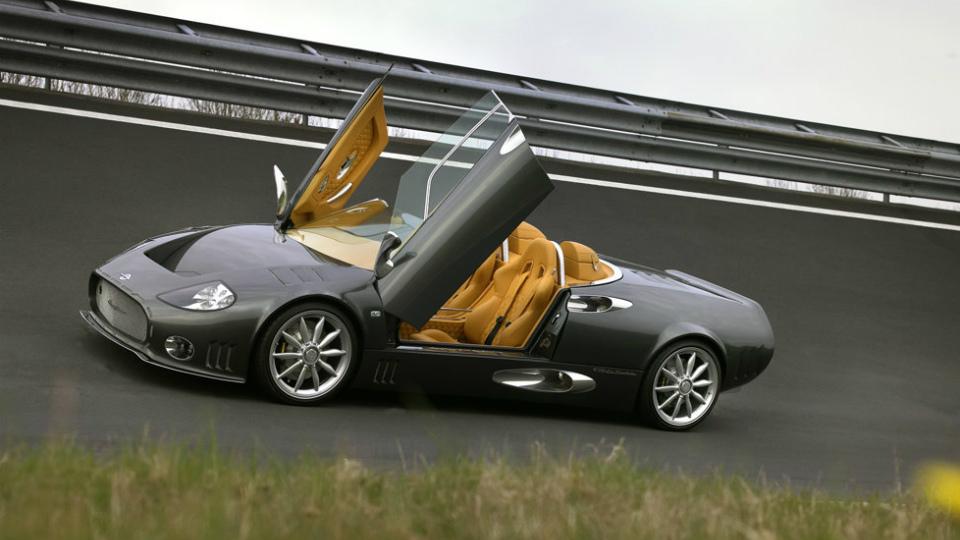 Spyker выпустит четырехдверную модель и суперкар с мотором V12