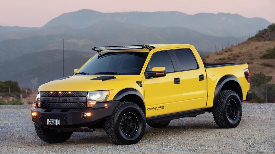 «Заряженный» пикап Ford из Top Gear выставят на аукцион