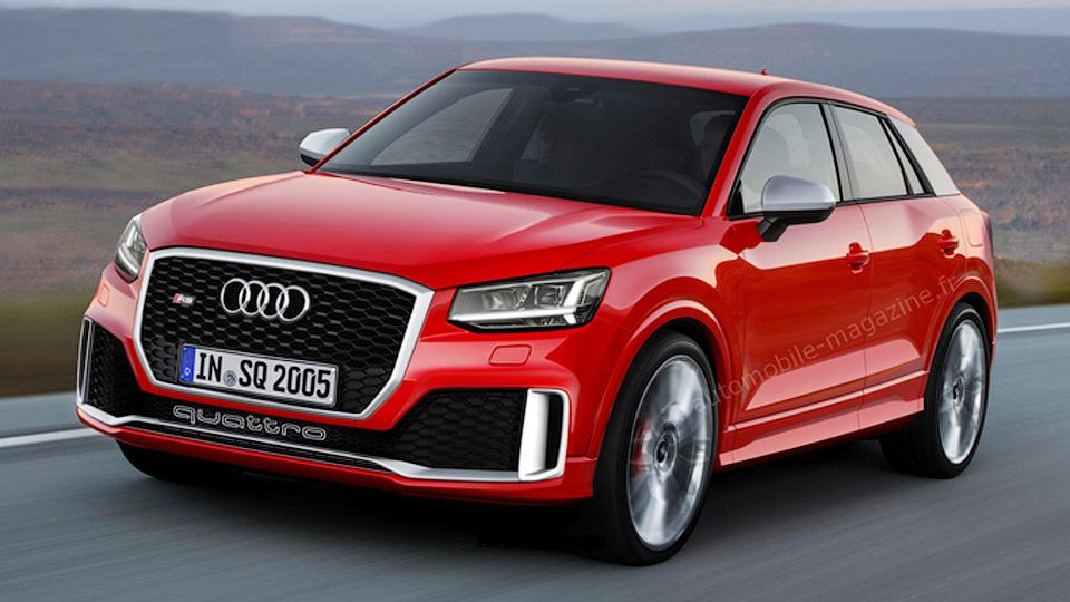 «Заряженный» Audi Q2 появится через полтора года