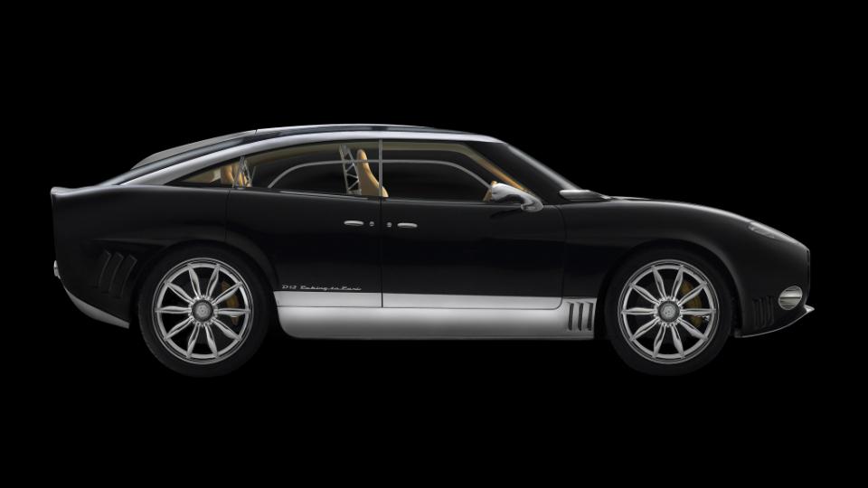 Spyker построит электрический вседорожник