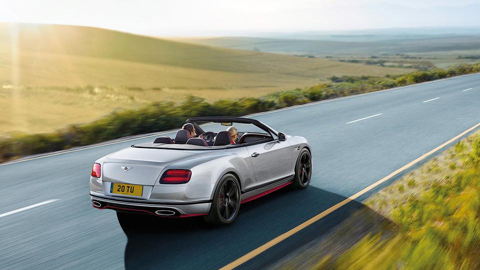Мощность мотора Continental GT Speed увеличили до 642 сил