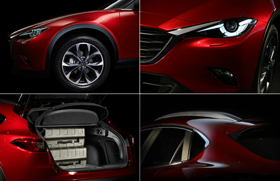 Опубликованы новые изображения модели CX-4. Фото 1
