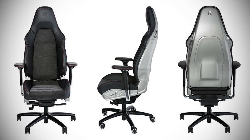 В Porsche сделали офисное кресло за 6,5 тысячи долларов