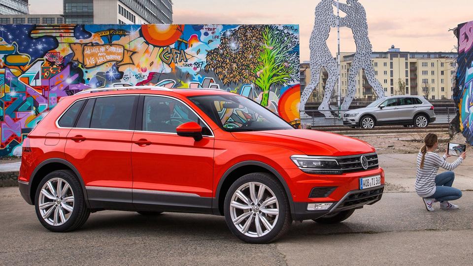 В VW отказались делать экстремальный «Тигуан»