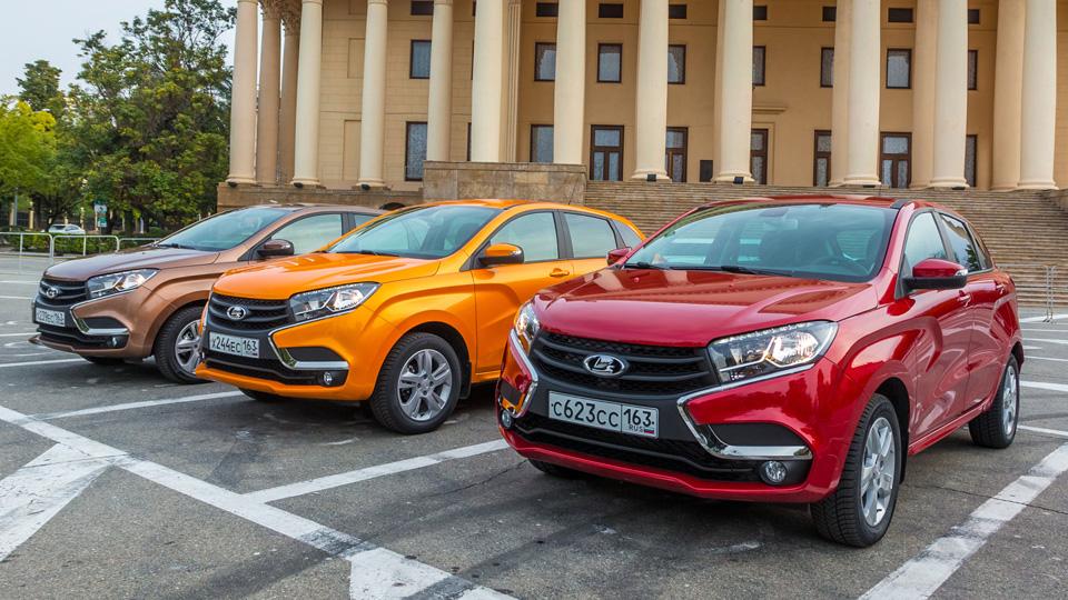 Дилеры заявили о дефиците Lada XRay