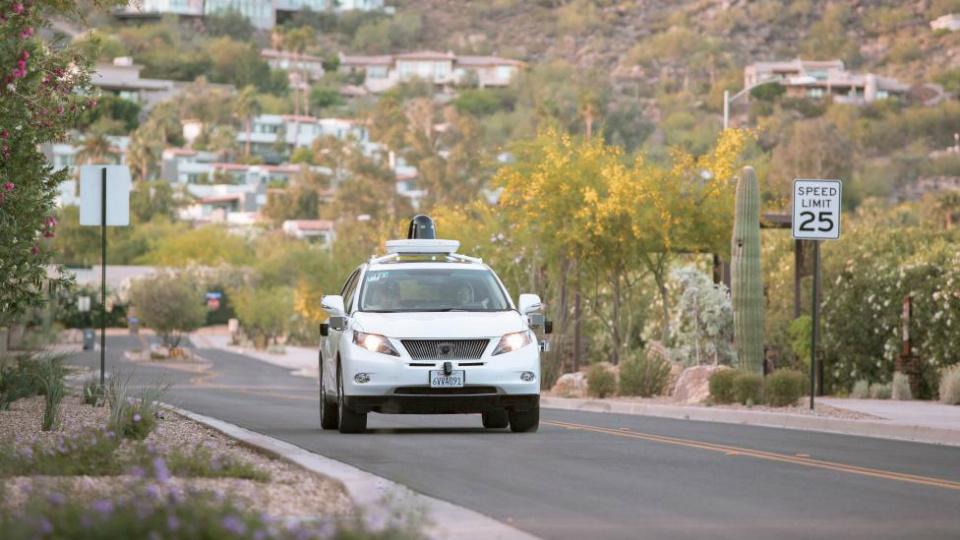 Машины с автопилотом протестируют при жаркой погоде и пыльном воздухе. Фото 1