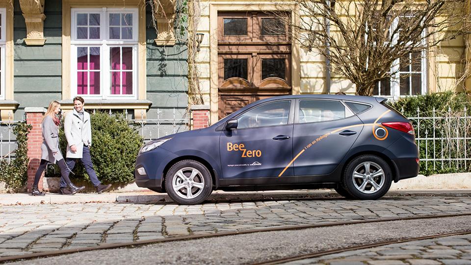 Немцы запустят каршеринг водородных автомобилей