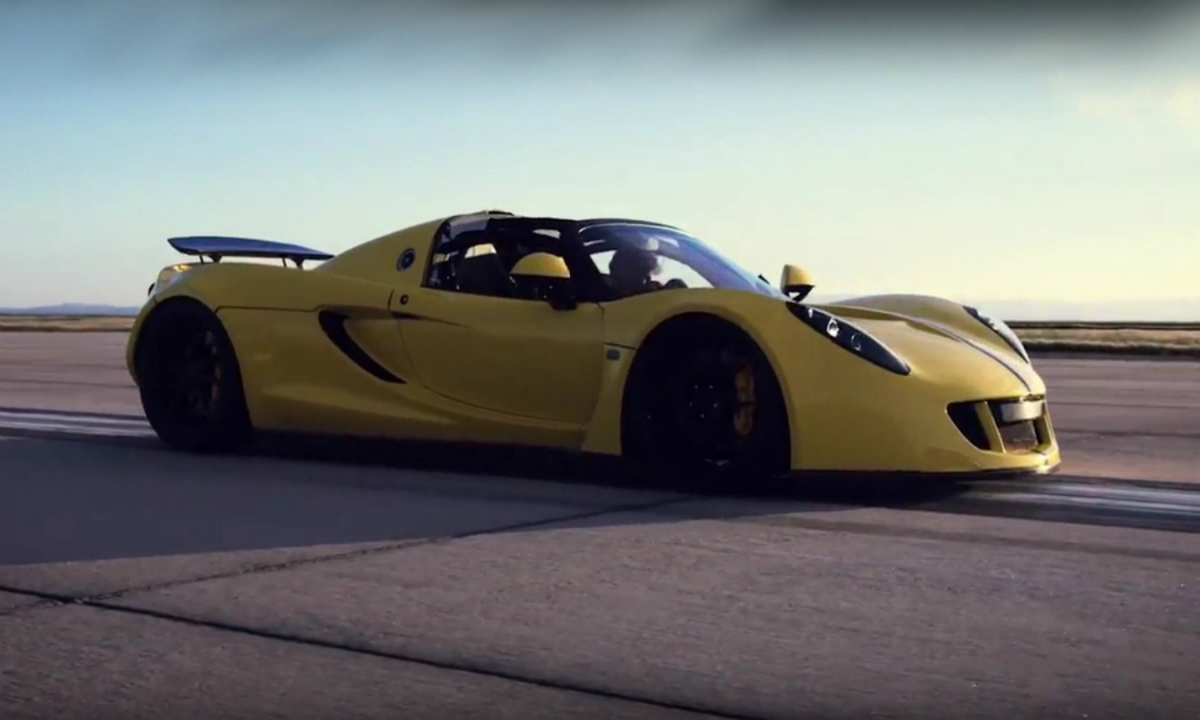 Hennessey Venom GT побил собственный рекорд скорости