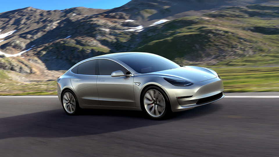 Tesla Model S обновится в течение недели