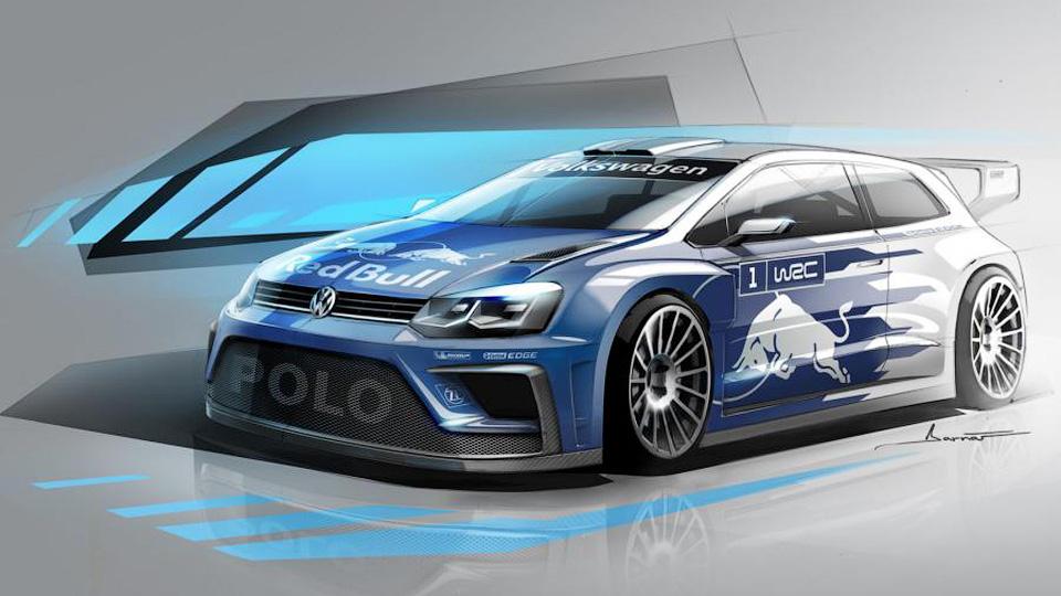 Volkswagen показал дизайн раллийного Polo для 2017 года