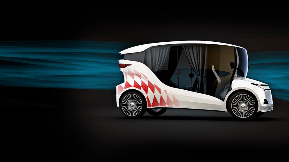 На выставке EVER дебютировал прототип электромобиля Synchronous