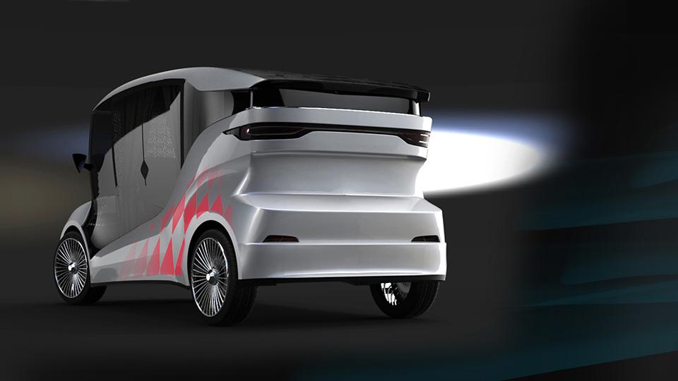На выставке EVER дебютировал прототип электромобиля Synchronous . Фото 1