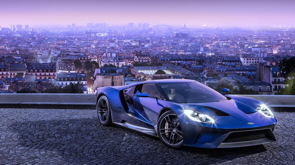 Ford запустил российский конфигуратор суперкара GT