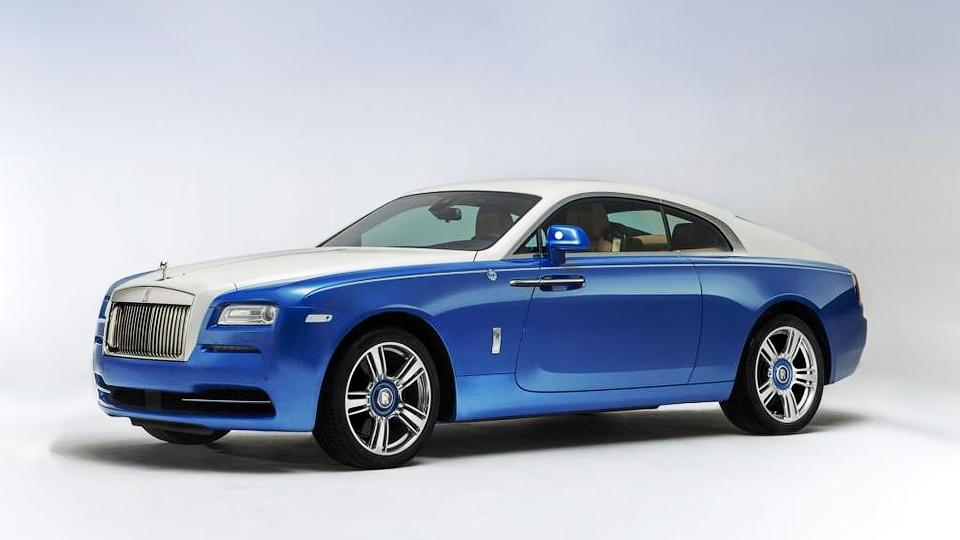 Rolls-Royce построил «морское» купе Wraith