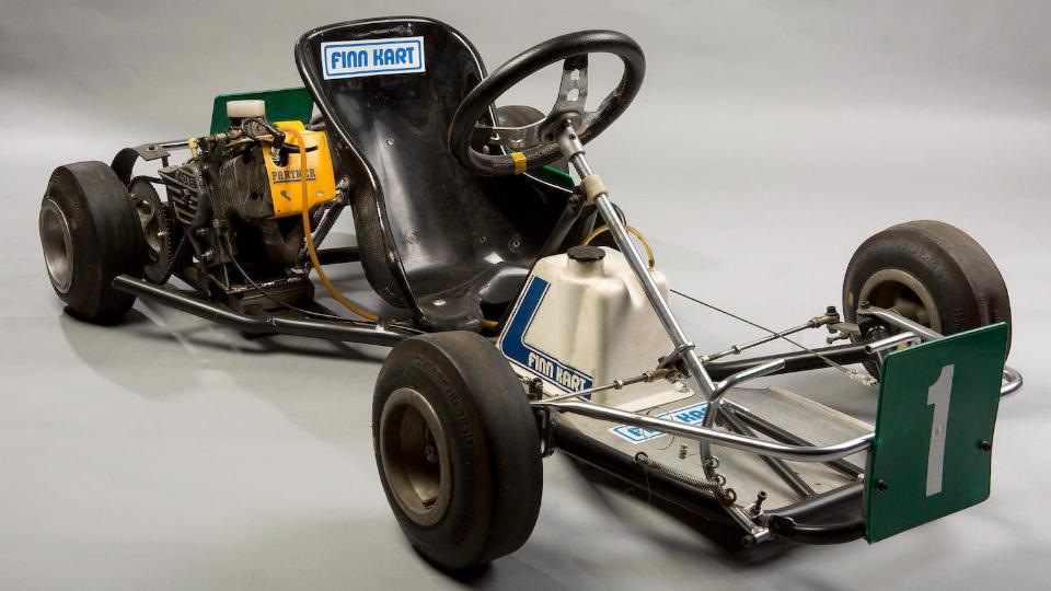 Карт двухкратного чемпиона Формулы-1 продадут за 20 тысяч евро. Фото 1