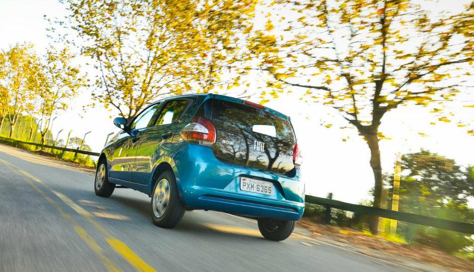 Fiat представил модель Mobi для бразильского рынка