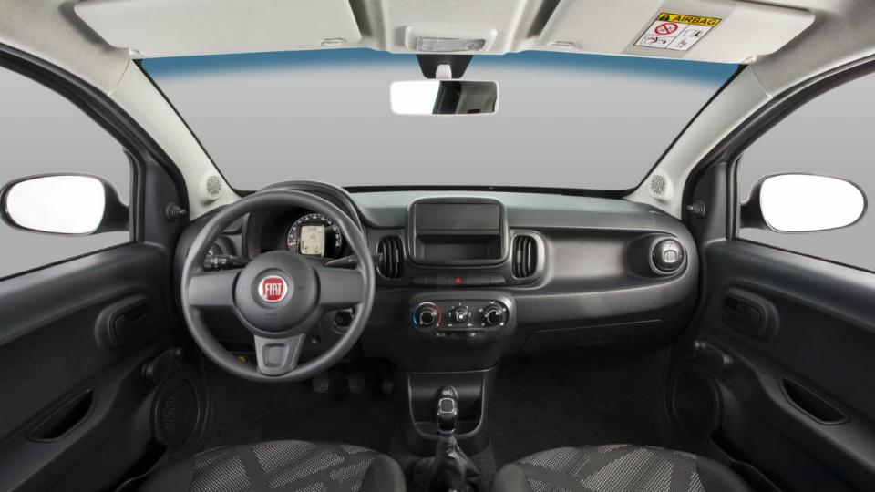 Fiat представил модель Mobi для бразильского рынка. Фото 2