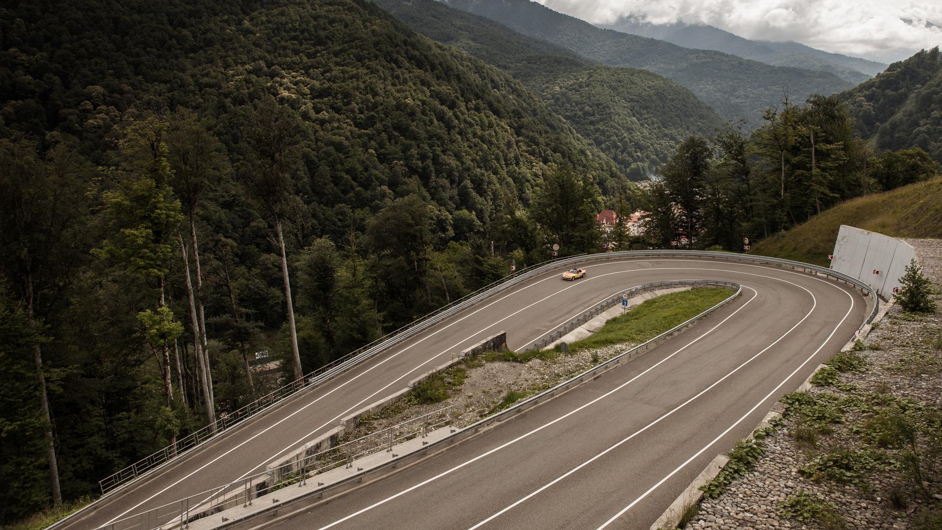 Ищем драйверские дороги России за рулем Mazda MX-5 Aori. Фото 12