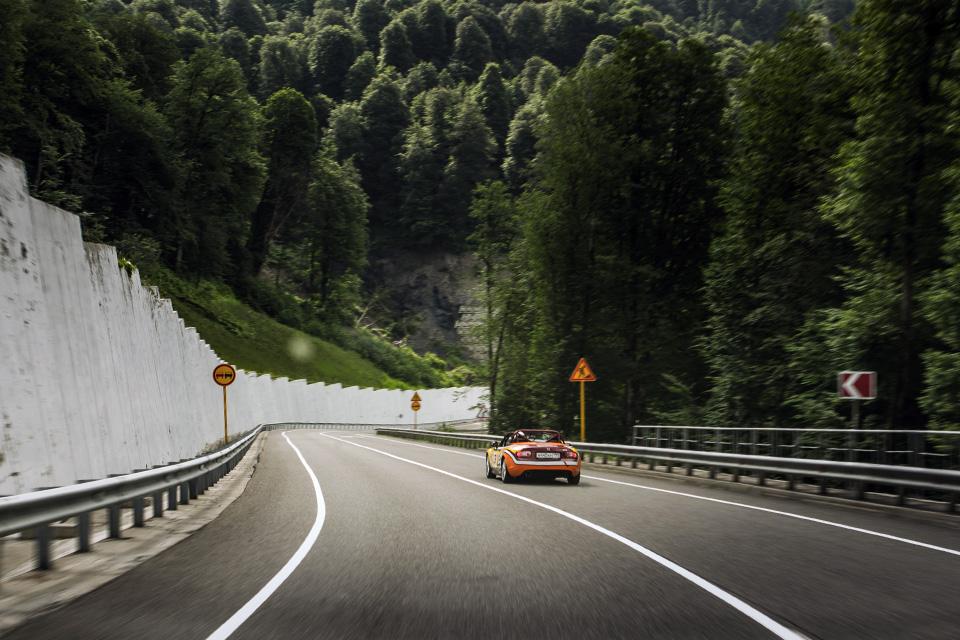 Ищем драйверские дороги России за рулем Mazda MX-5 Aori. Фото 14