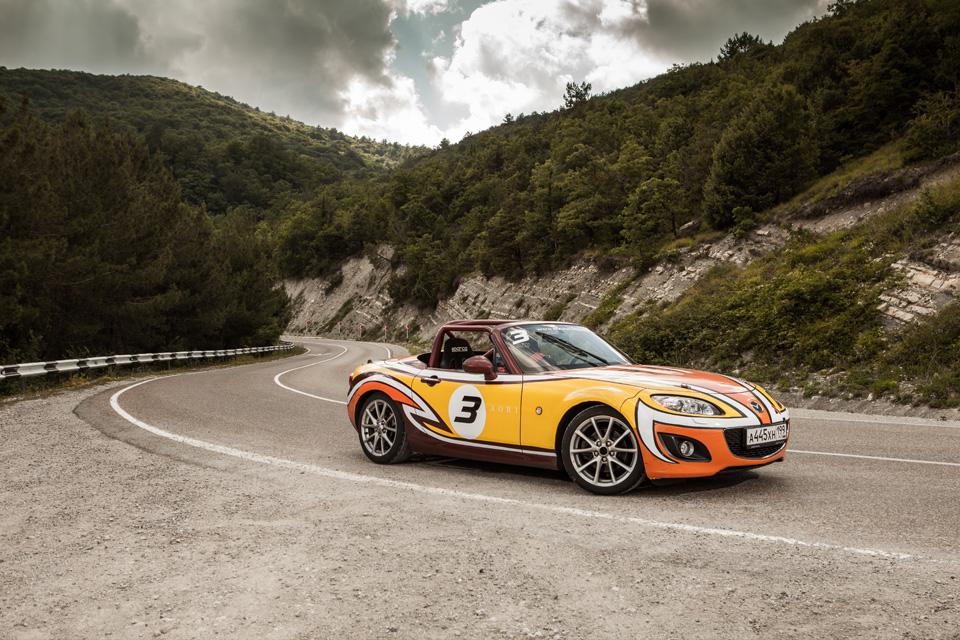 Ищем драйверские дороги России за рулем Mazda MX-5 Aori. Фото 17