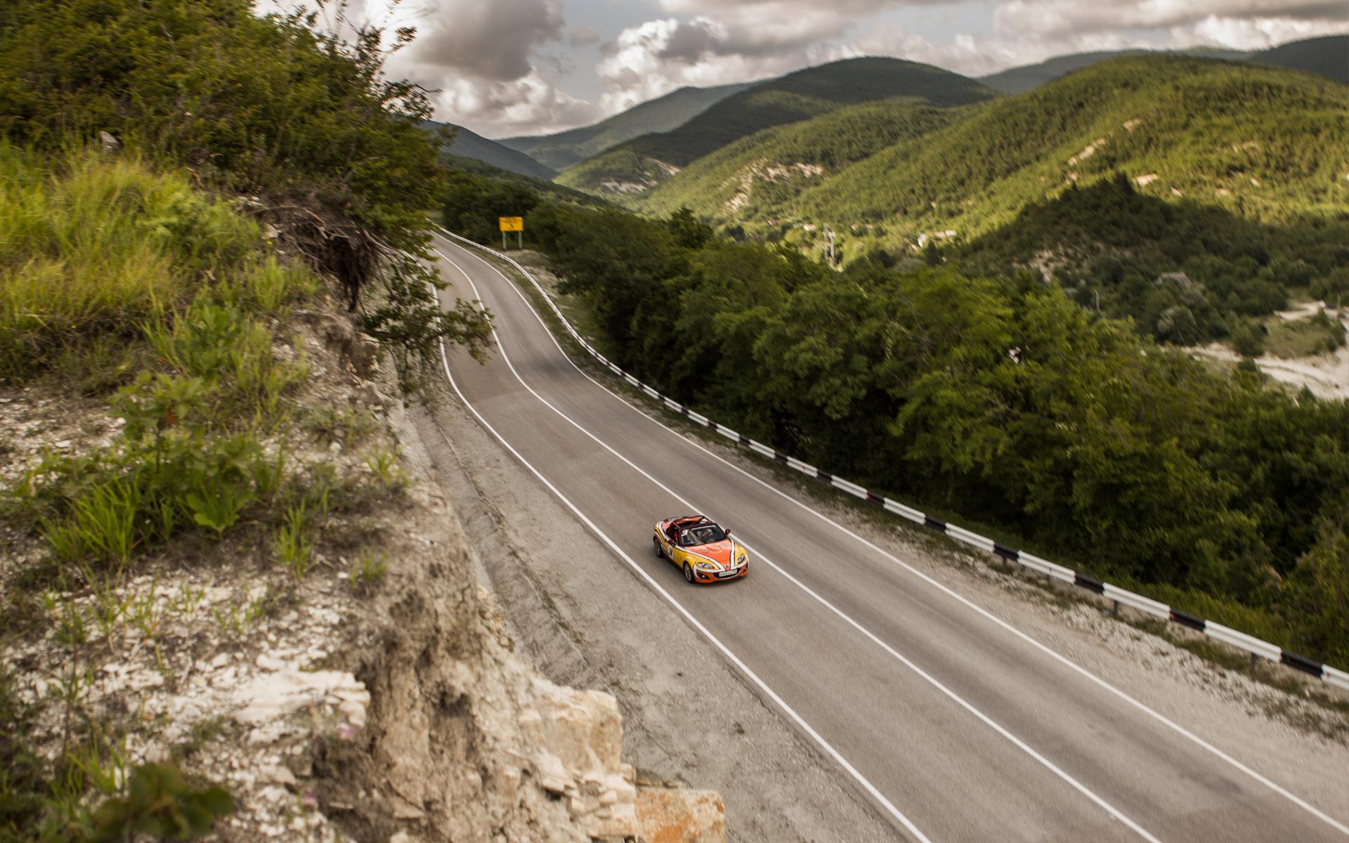 Ищем драйверские дороги России за рулем Mazda MX-5 Aori. Фото 16