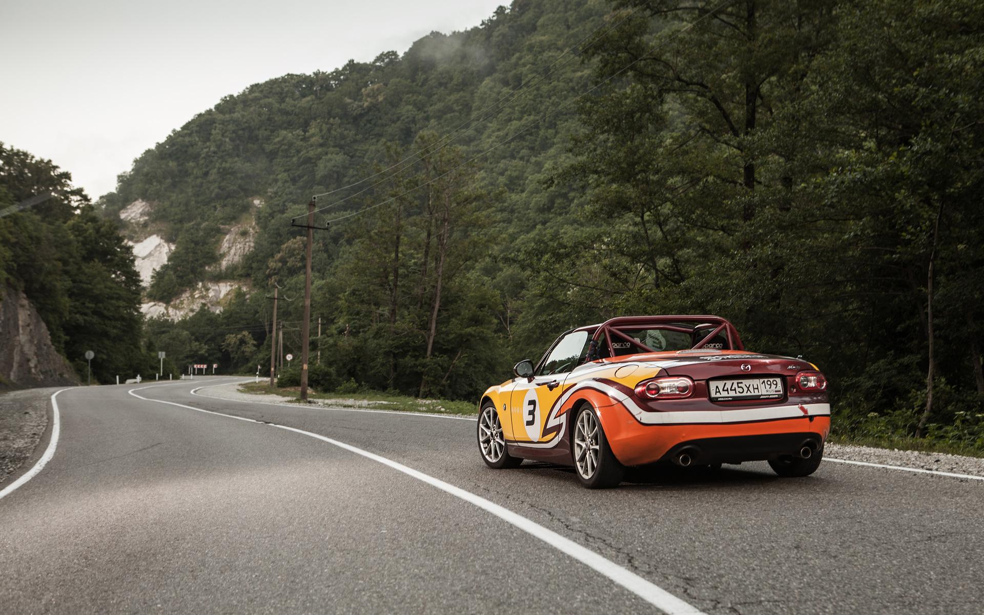Ищем драйверские дороги России за рулем Mazda MX-5 Aori. Фото 23