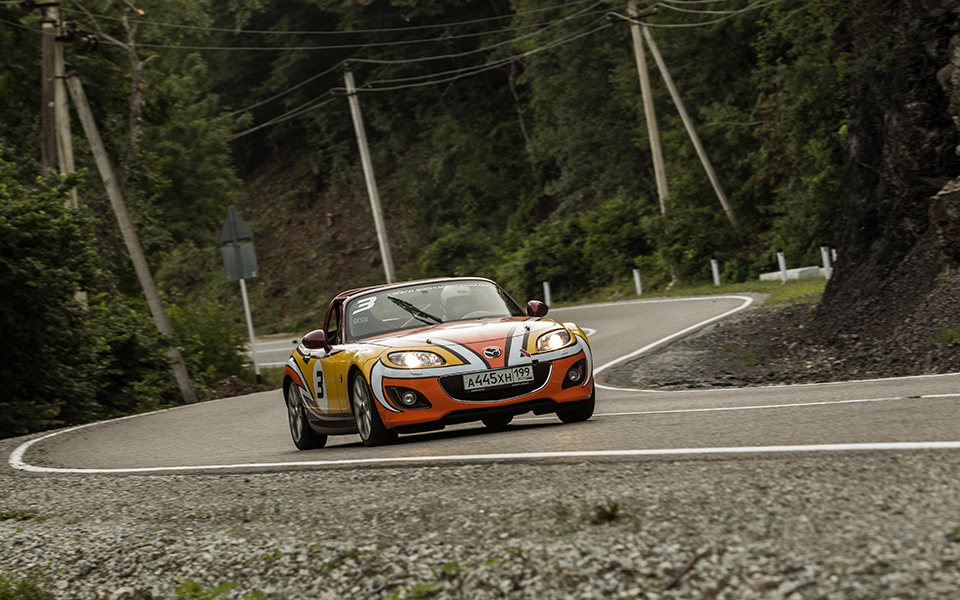 Ищем драйверские дороги России за рулем Mazda MX-5 Aori. Фото 22