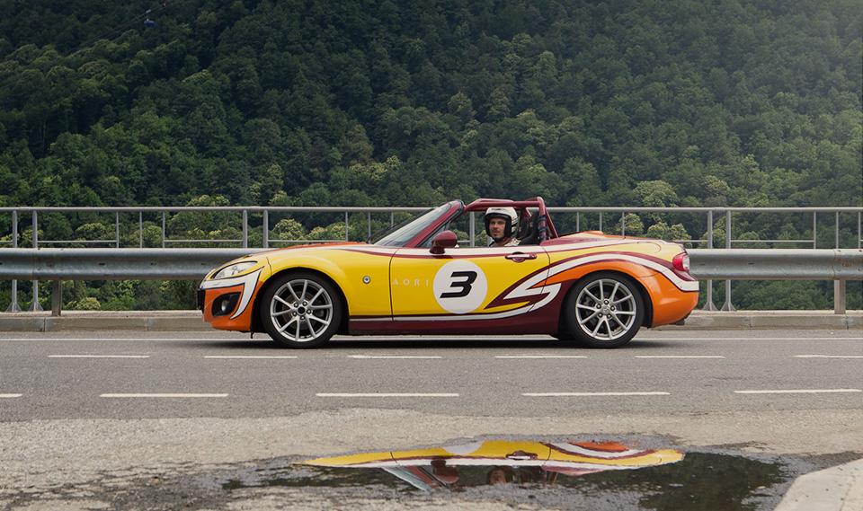 Ищем драйверские дороги России за рулем Mazda MX-5 Aori. Фото 7