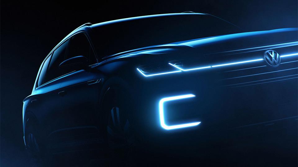 Volkswagen привезет в Пекин предвестника нового кроссовера