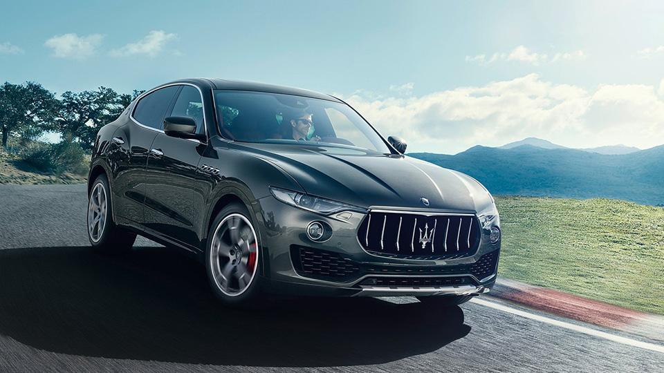 В Maserati сделали прототип Levante с мотором V8