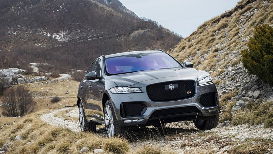 СМИ узнали дату выхода «заряженного» Jaguar F-Pace