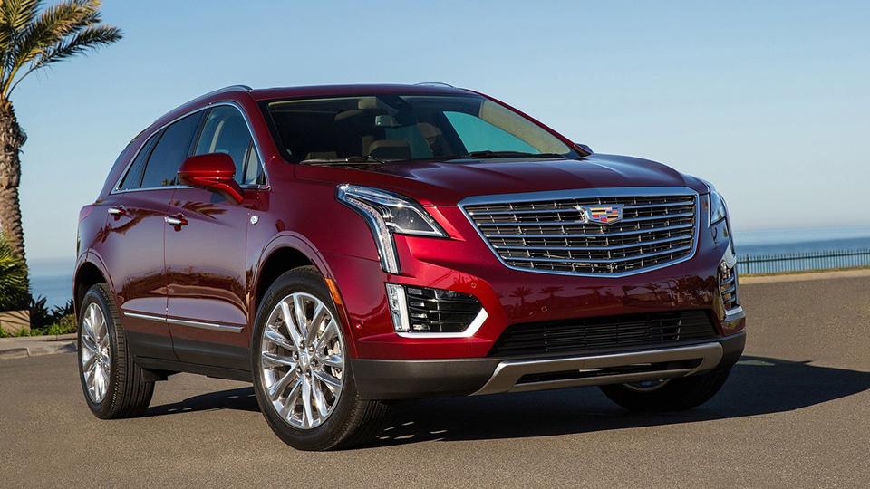 Объявлены рублевые цены на новый кроссовер Cadillac