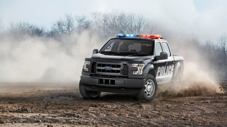 Ford выпустил полицейский пикап