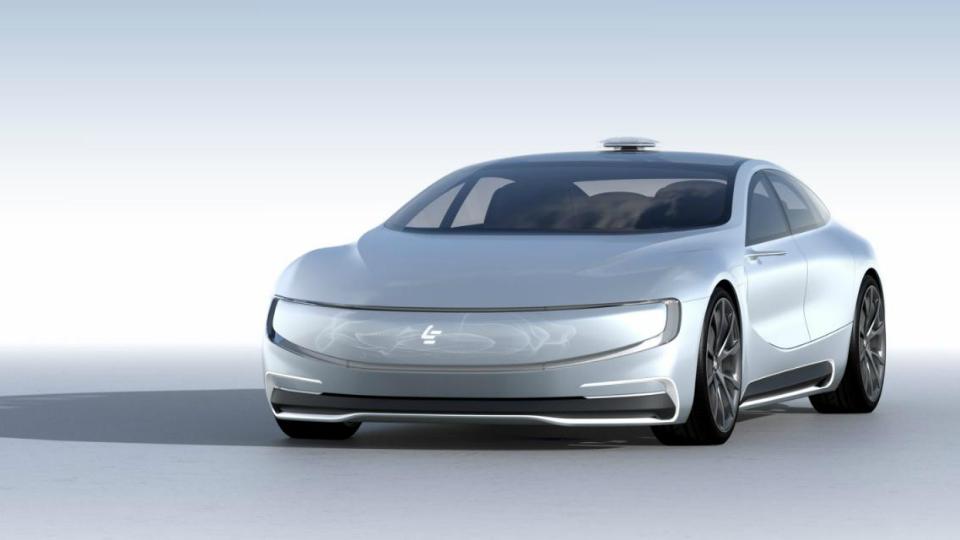Китайцы показали будущего соперника Tesla Model S