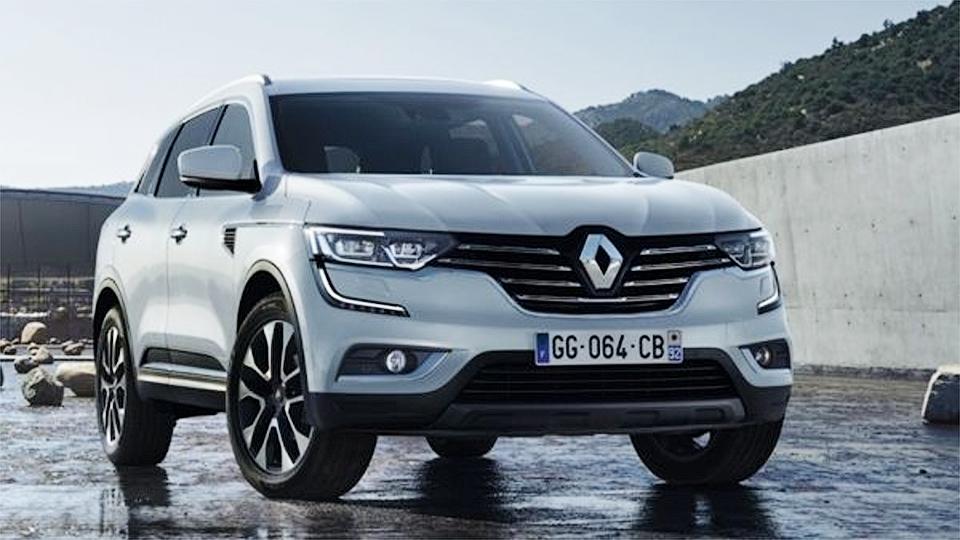 Появилась первая фотография пятиметрового внедорожника Renault