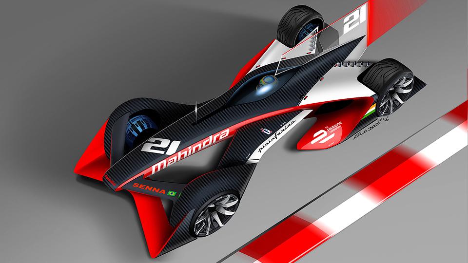 Pininfarina придумала три электроболида будущего