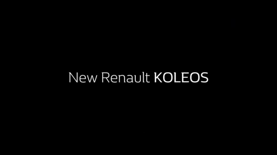 Новый большой внедорожник Renault сохранил название Koleos