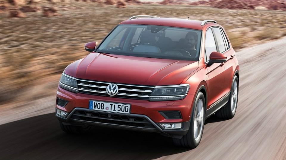 Новый VW Tiguan появится в России только в 2017 году