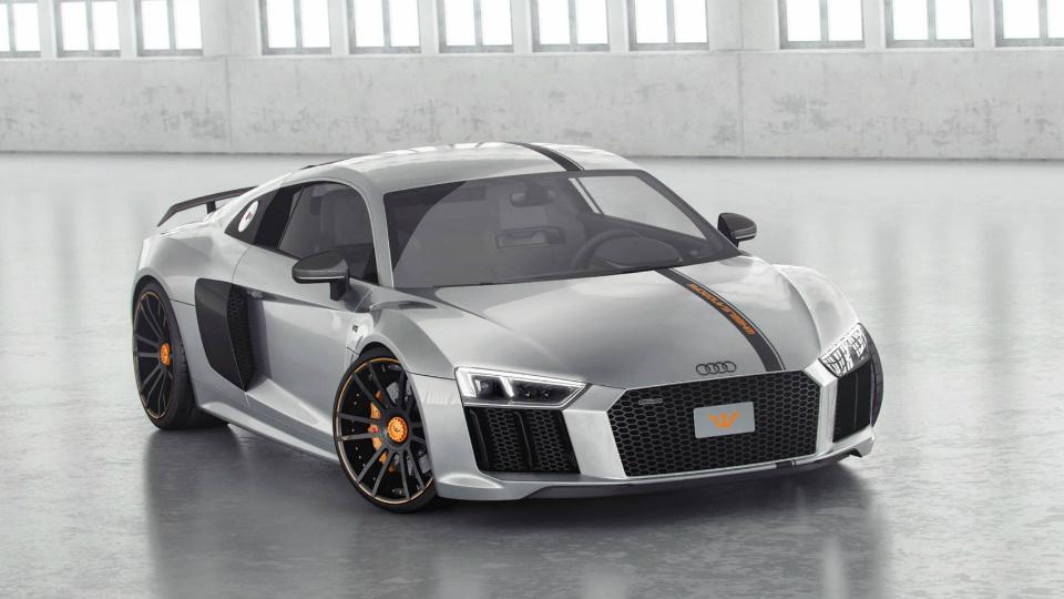 Купе Audi R8 сделали 850-сильным