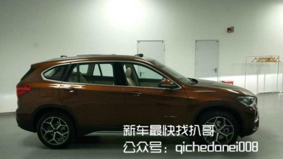 Внешность удлиненного BMW X1 раскрыли до премьеры