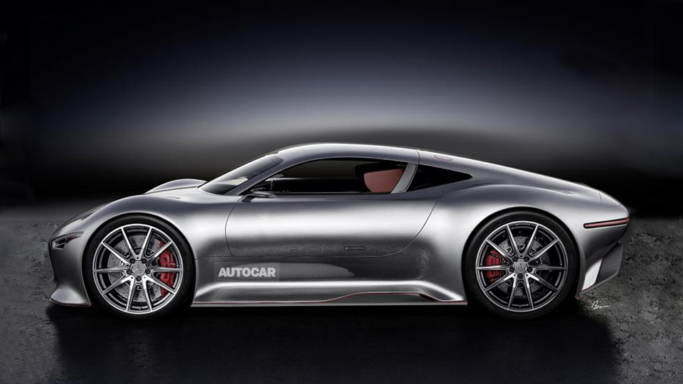 Mercedes-AMG разработает гибридный среднемоторный суперкар