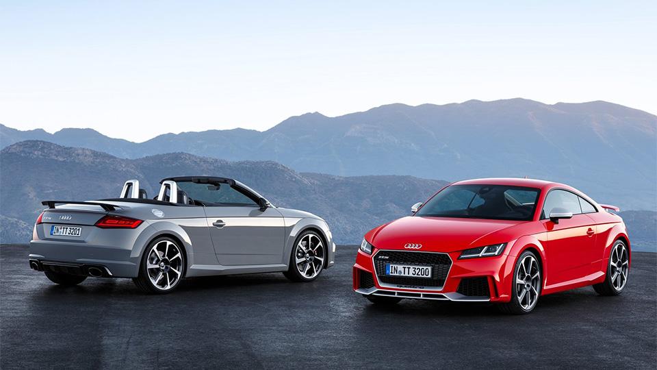 Audi TT RS оснастили 400-сильным двигателем