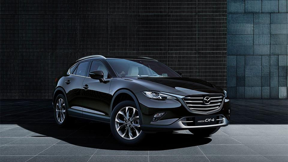 У Mazda появился купеобразный кроссовер